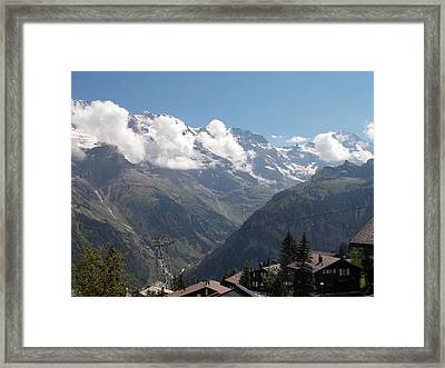 View From Murren Framed Print