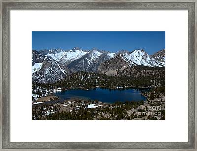View From Onion Trail 1 Framed Print by Jane Axman