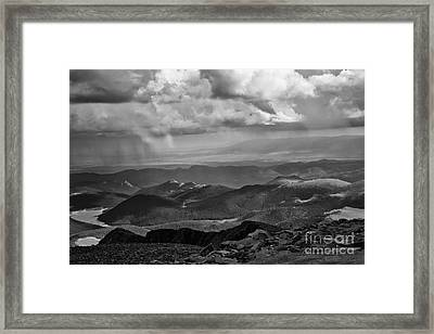 View From Pikes Peak Framed Print