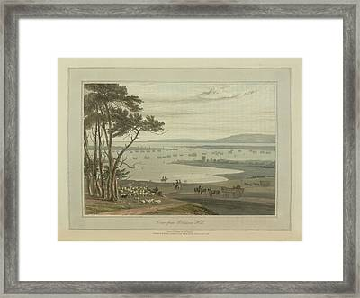 View From Portsdown Hill Framed Print
