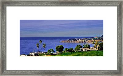 View From Pv Framed Print