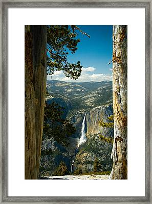 View From Sentinel Dome Framed Print