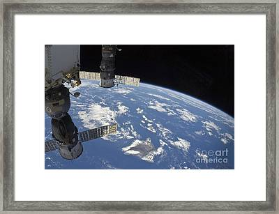 View From Space Showing Part Framed Print by Stocktrek Images