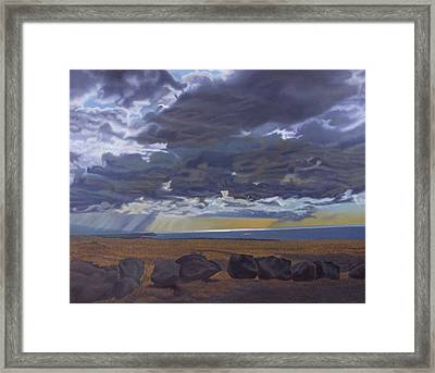 View From Spencer Framed Print by Thu Nguyen