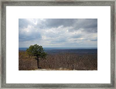 View From Sunrise Mountain Framed Print