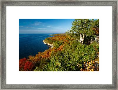 View From Sven's Bluff Framed Print