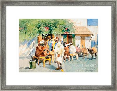 View From Tangier Framed Print