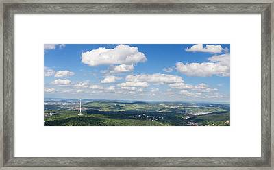 View From Television Tower Framed Print by Panoramic Images