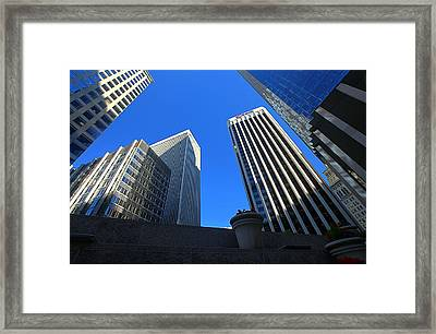 View From Terrace Gardens Framed Print