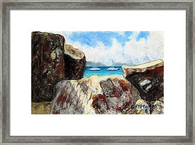 View Of Devil's Bay Framed Print