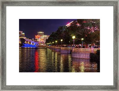 View From The Bellagio Fountains Framed Print