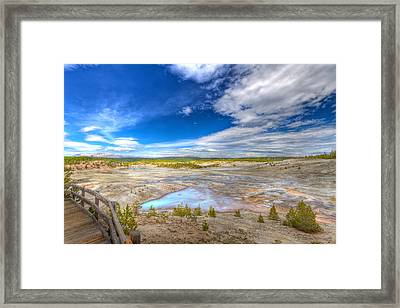 View From The Boardwalk Framed Print