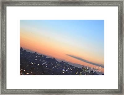 View From The Bronx Framed Print