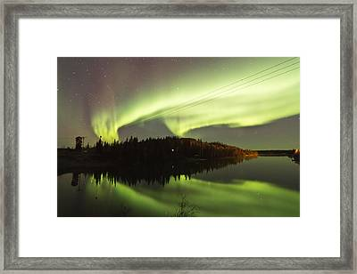 View From The Cabin Framed Print