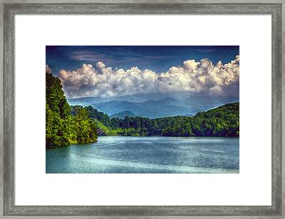 View From The Great Smoky Mountains Railroad Framed Print