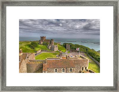Framed Print featuring the photograph View From The Great Tower by Tim Stanley