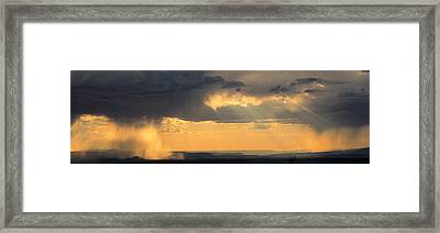View From The High Road To Taos, New Framed Print by Panoramic Images
