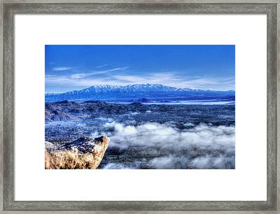 View From The Lookout Framed Print by Richard Stephen