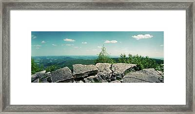 View From The Pinnacle Framed Print