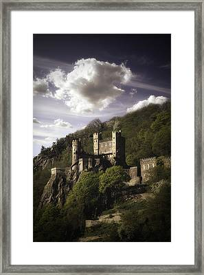 View From The Rhine River Framed Print by James Bethanis