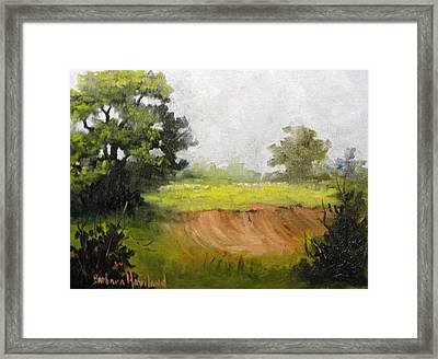 View From The Road Framed Print