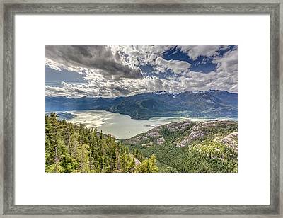 View From The Sea To Sky Gondola Framed Print