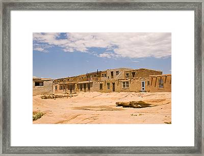 View From The Square Framed Print