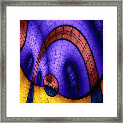 View From The Top 1 Framed Print by Wendy J St Christopher