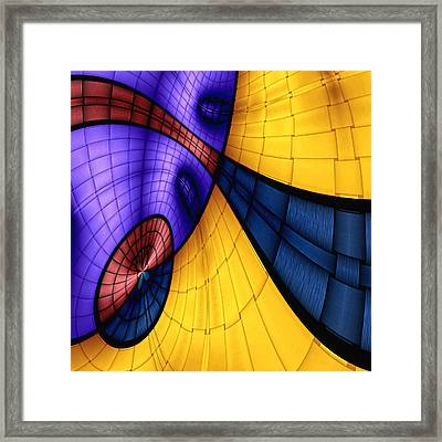 View From The Top 2 Framed Print by Wendy J St Christopher