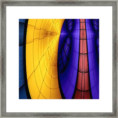 View From The Top 3 Framed Print by Wendy J St Christopher
