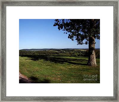 View From Wethersfield Framed Print