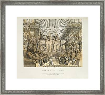 View In North Transept Framed Print