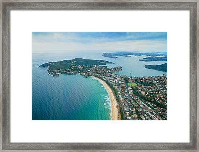 Framed Print featuring the photograph View by Miroslava Jurcik