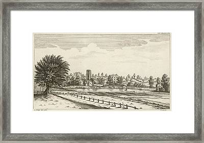 View Near Lichfield  (staffordshire) Framed Print by Mary Evans Picture Library