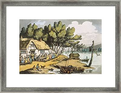 View Near Newport, Isle Of Wight Framed Print