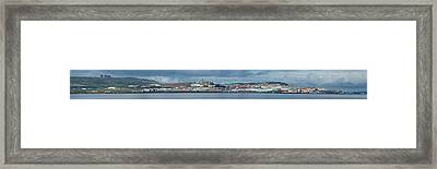 View Of A Town At Waterfront, Anadyr Framed Print by Panoramic Images