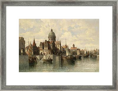 View Of Amsterdam Framed Print