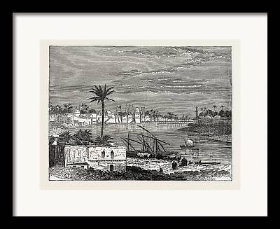 Baghdad Drawings Framed Prints
