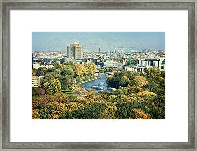 View Of Berlin / Autumn Framed Print by Gynt