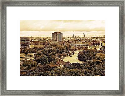 View Of Berlin Framed Print by Gynt