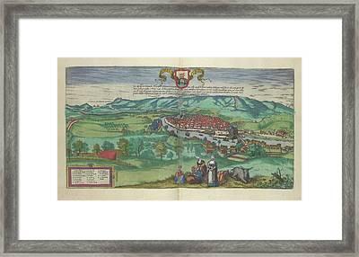 View Of Bilbao Framed Print