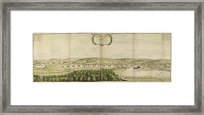 View Of Chatham Framed Print by British Library