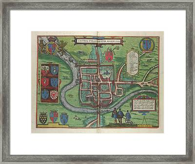 View Of Chester Framed Print