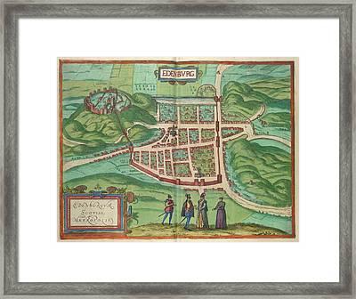 View Of Edinburgh Framed Print