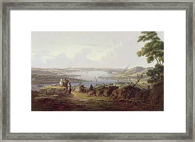 View Of Greenock, Scotland Framed Print by Robert Salmon
