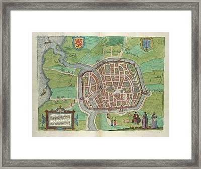 View Of Haarlem Framed Print