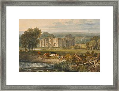 View Of Hampton Court Framed Print