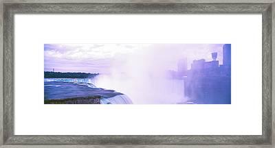 View Of Horseshoe Falls, Niagara Falls Framed Print by Panoramic Images