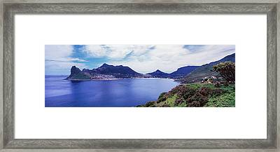 View Of Hout Bay, Cape Peninsula Framed Print