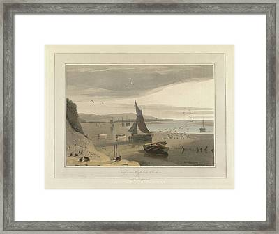 View Of Hoyle-lake In Cheshire Framed Print by British Library